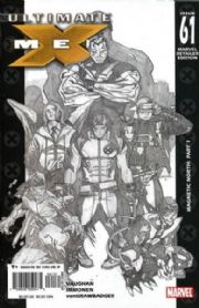Ultimate X-Men #61 Retail Incentive Sketch Variant (2005) Marvel comic book